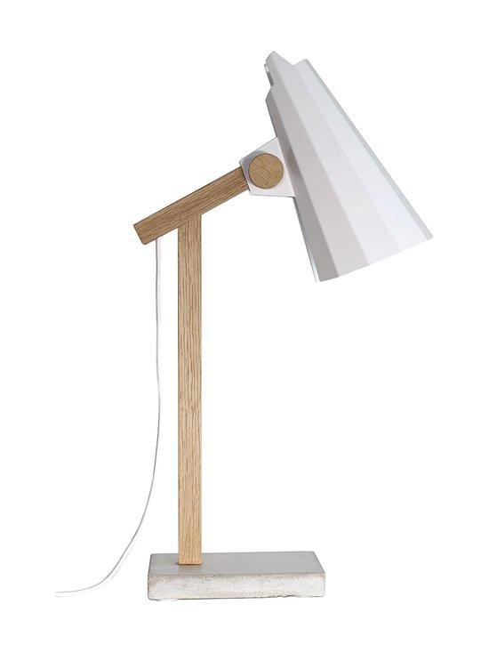 Himmee - Filly-pöytävalaisin 47 cm - TAMMI/VALKOINEN | Stockmann - photo 1