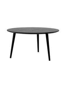 &tradition - In Between SK15 -sohvapöytä Ø:90cm - BLACK LACQUERED OAK | Stockmann