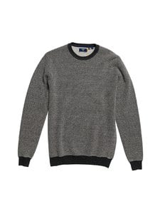 Superdry - Orange Label Crew -neule - 3UN DARK CHARCOAL BIRDSEYE | Stockmann