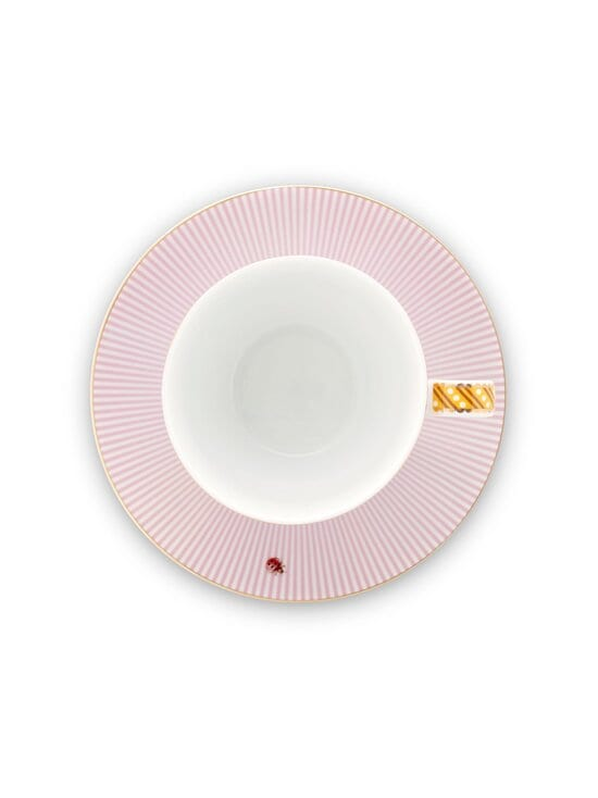 PIP Studio - La Majorelle -kahvikuppi 280 ml ja lautanen - PINK | Stockmann - photo 2