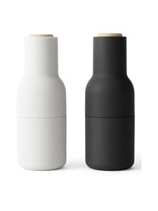 Menu - Bottle-maustemyllysetti - BLACK, OFFWHITE, WALNUT | Stockmann