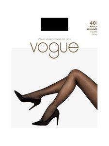 Vogue - Opaque Brillante 40 den -sukkahousut - BLACK | Stockmann