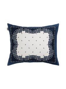 Gant Home - Bandana Paisley Pillowcase -tyynyliina 50 x 60 cm - 459 YANKEE BLUE | Stockmann