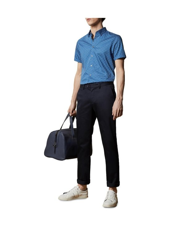 Ted Baker London - Smile Slim Fit Satin Finish Chinos -chinot - 10 NAVY   Stockmann - photo 4