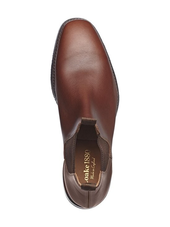 Loake - Chatsworth Chelsea -nahkanilkkurit - BROWN (TUMMANRUSKEA) | Stockmann - photo 2