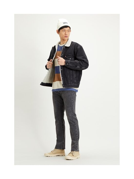 Levi's - Sherpa Trucker -farkkutakki - BLACK | Stockmann - photo 3