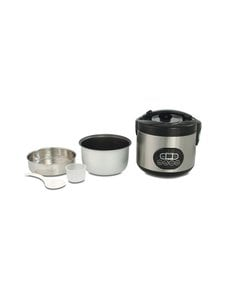 Solis - Rice Cooker Duo Program Steel -riisinkeitin - STEEL | Stockmann