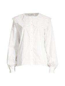 Modström - Jadie shirt -puuvillapusero - 00007 OFF WHITE   Stockmann