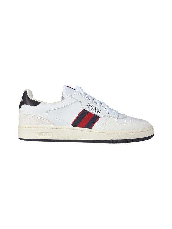 Polo Ralph Lauren - Court Athletic -nahkasneakerit - 3G1W W/NV/RL2   Stockmann - photo 1