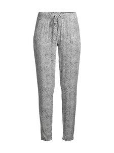 NOOM loungewear - Unice-pyjamahousut - WHITE/NAVY COMBO   Stockmann
