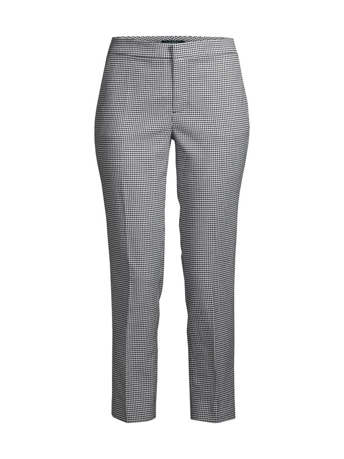 Houndstooth Stretch -housut