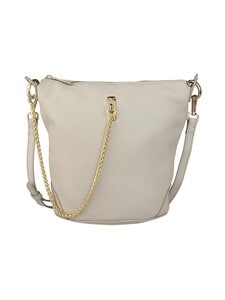 A+more - Ferla Bucket Bag -nahkalaukku - LIGHT GREY | Stockmann