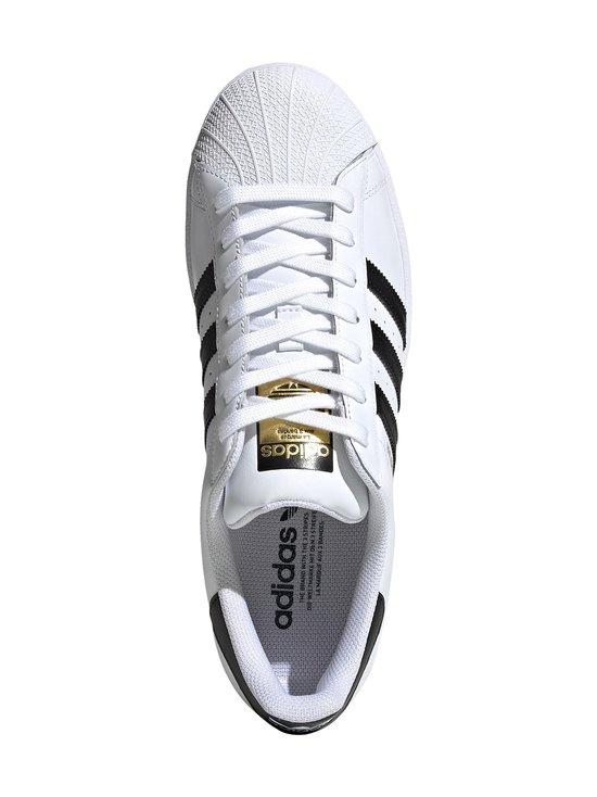 adidas Originals - Superstar-nahkatennarit - FTWWHT/CBL FTWWHT/CBLACK/FTWWHT   Stockmann - photo 2