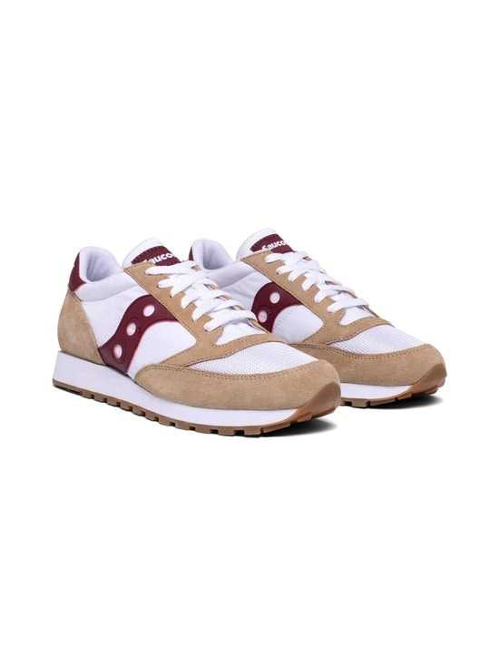 Saucony - Jazz Original Vintage -sneakerit - TAN/WHT/WINE | Stockmann - photo 4