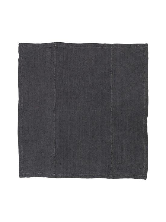 Linum - West-pellavapöytäliina 150 x 250 cm - GRANITE GREY | Stockmann - photo 1