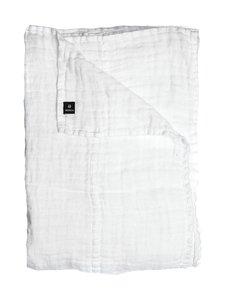 Himla - Hannelin-pellavapäiväpeite 260 x 260 cm - VALKOINEN | Stockmann