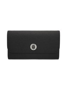 Tommy Hilfiger - Th Core Large Flap Wallet -lompakko - BDS BLACK | Stockmann