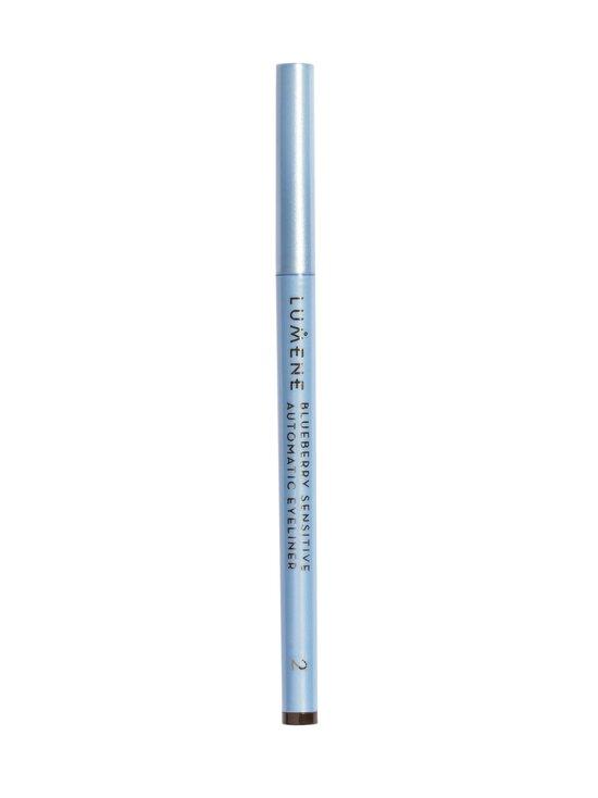 Lumene - Blueberry Sensitive Automatic Eyeliner -silmänrajauskynä - 2 BROWN   Stockmann - photo 2