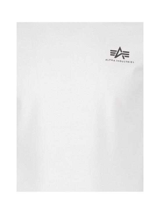 Alpha Industries - Back Print Heavy LS -paita - 09 WHITE   Stockmann - photo 3
