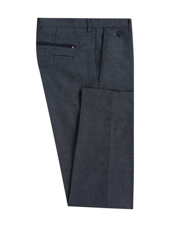 Tommy Hilfiger Tailored - Flex Slim Fit -housut - 0GO BLACK/DENIM BLUE/WHITE | Stockmann - photo 1