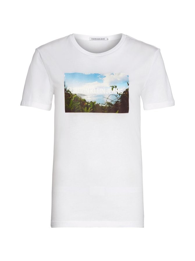 Photo Print Modern Slim Tee -paita