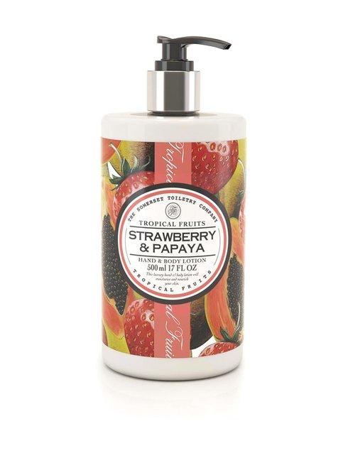 Strawberry & Papaya Body Lotion -vartalovoide 500 ml