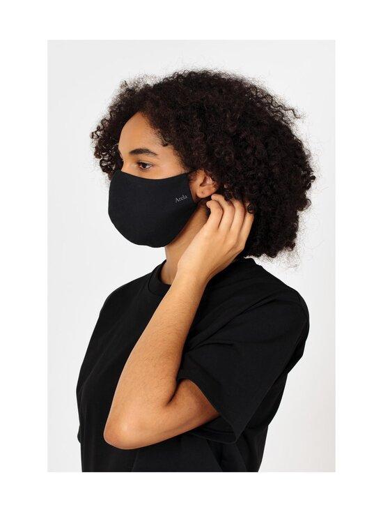 ARELA - Face Mask -kangasmaski - BLACK | Stockmann - photo 6