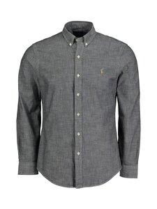 Polo Ralph Lauren - Slim Fit Oxford Shirt -kauluspaita - GREY   Stockmann