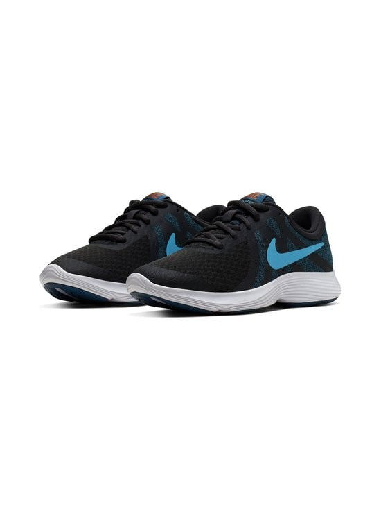 Nike - Revolution 4 -sneakerit - OFF NOIR/LIGHT CURRENT BLUE | Stockmann - photo 4