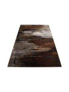 Muubs - Rug Surface -matto 200 x 300 cm - BLACK/BROWN/BURNED PATTERN   Stockmann