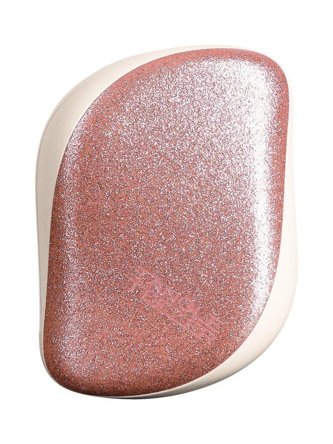 Compact Styler Pink Glitter -hiusharja