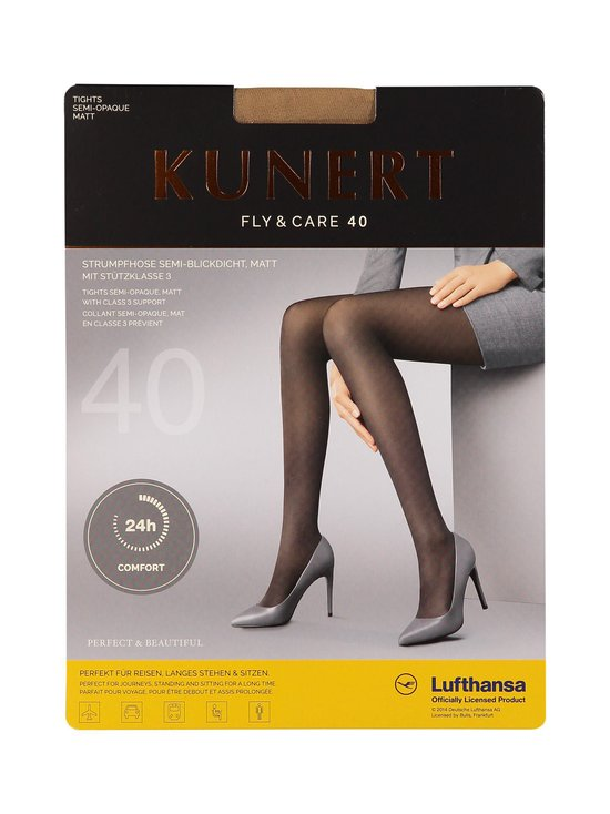 Kunert - Fly & Care -lentosukkahousut 40 den - CASHMERE (BEIGE) | Stockmann - photo 1