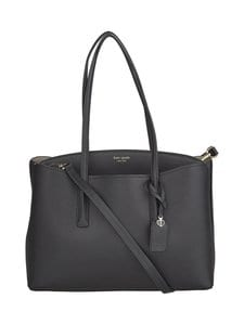 kate spade new york - Margaux Large Work Tote -nahkalaukku - BLACK | Stockmann