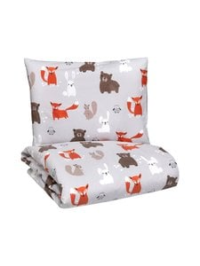 Pentik - Metsänväki- vauvan pussilakanasetti 85 x 125 + 36 x 46 cm - null | Stockmann