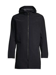 Ubr Technology+Tailoring - EX-3 Delta pitkä hupullinen takki - 998 BLACK | Stockmann