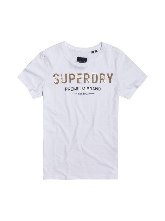 Superdry - Premium Sequin Entry Tee -paita - 01C OPTIC | Stockmann - photo 1