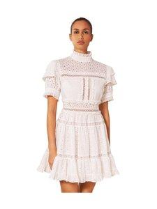 By Malina - Iro Mini Lace Dress -mekko - WHITE | Stockmann