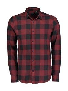 Only & Sons - OnsGudmund LS Checked Shirt -paita - CABERNET   Stockmann