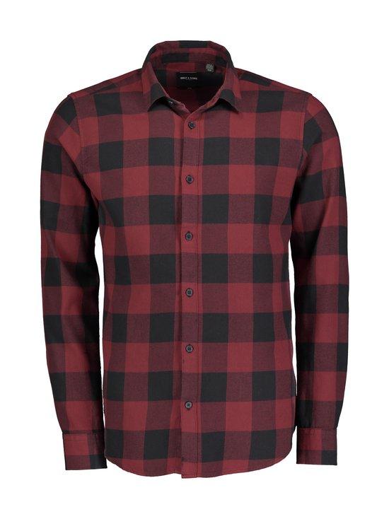 Only & Sons - OnsGudmund LS Checked Shirt -paita - CABERNET | Stockmann - photo 1