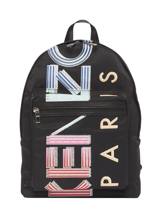 Kenzo - Large Logo Backpack -reppu - 99 BLACK | Stockmann - photo 1