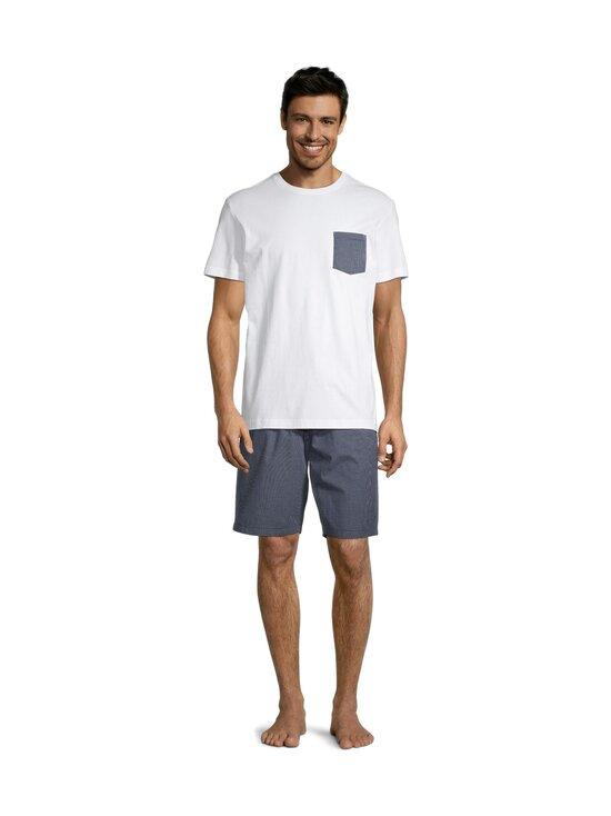 Cap Horn - Allan-pyjama - WHITE/ DK. NAVY CHECK | Stockmann - photo 2
