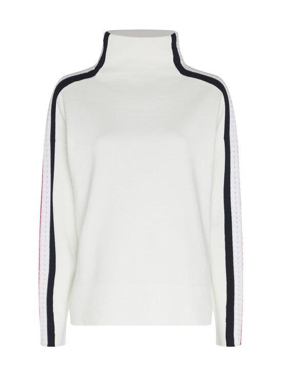 Tommy Hilfiger - Side Stripe Mock-Nk Sweater -neule - YBL ECRU | Stockmann - photo 1