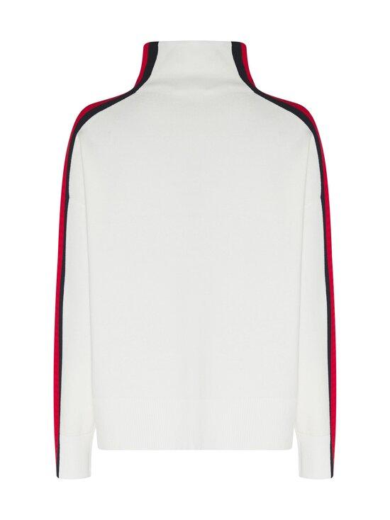 Tommy Hilfiger - Side Stripe Mock-Nk Sweater -neule - YBL ECRU | Stockmann - photo 2