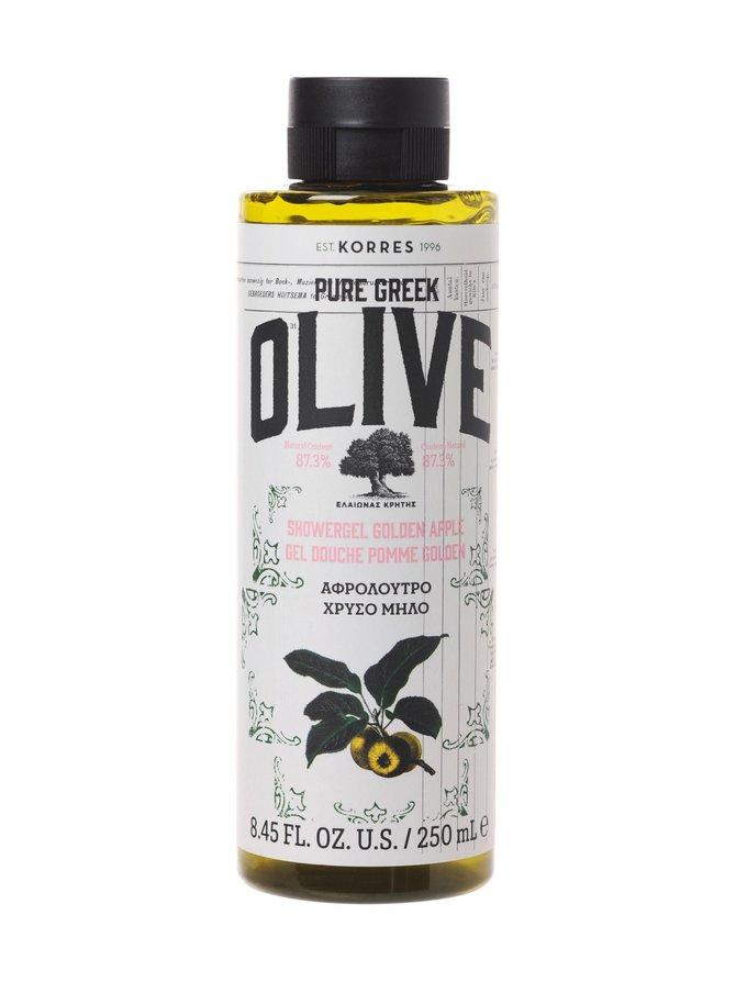 Pure Greek Olive Golden Apple Showergel -suihkugeeli 250 ml