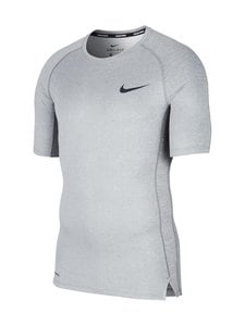 Nike - Pro Tight-Fit Short-Sleeve Top -treenipaita - SMOKE GREY/LT SMOKE GREY/BLACK | Stockmann