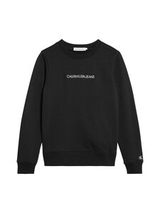 Calvin Klein Kids - Embroided Logo -collegepaita - BEH CK BLACK | Stockmann