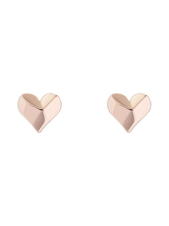 Ted Baker London - Felisi Faceted Heart Stud Earring -korvakorut - ROSE GOLD   Stockmann - photo 1