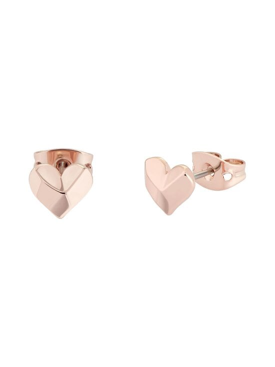 Ted Baker London - Felisi Faceted Heart Stud Earring -korvakorut - ROSE GOLD   Stockmann - photo 2