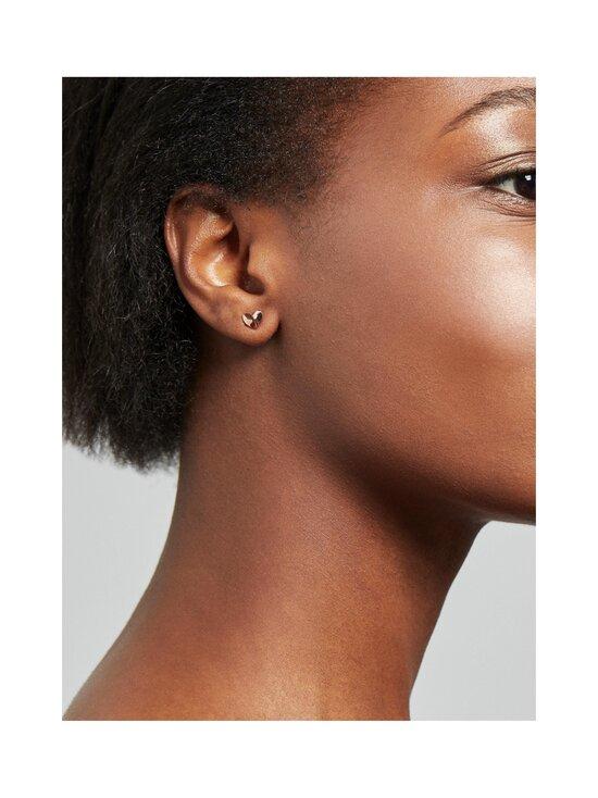 Ted Baker London - Felisi Faceted Heart Stud Earring -korvakorut - ROSE GOLD   Stockmann - photo 3