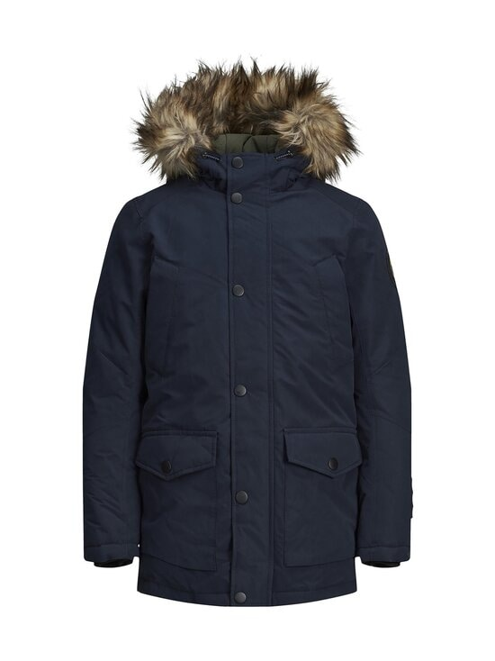 JACK & JONES junior - JjSky Parka -takki - NAVY BLAZER | Stockmann - photo 1